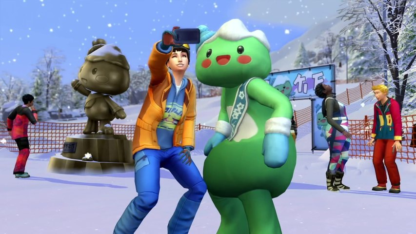 รีวิว The Sims 4 Snowy Escape