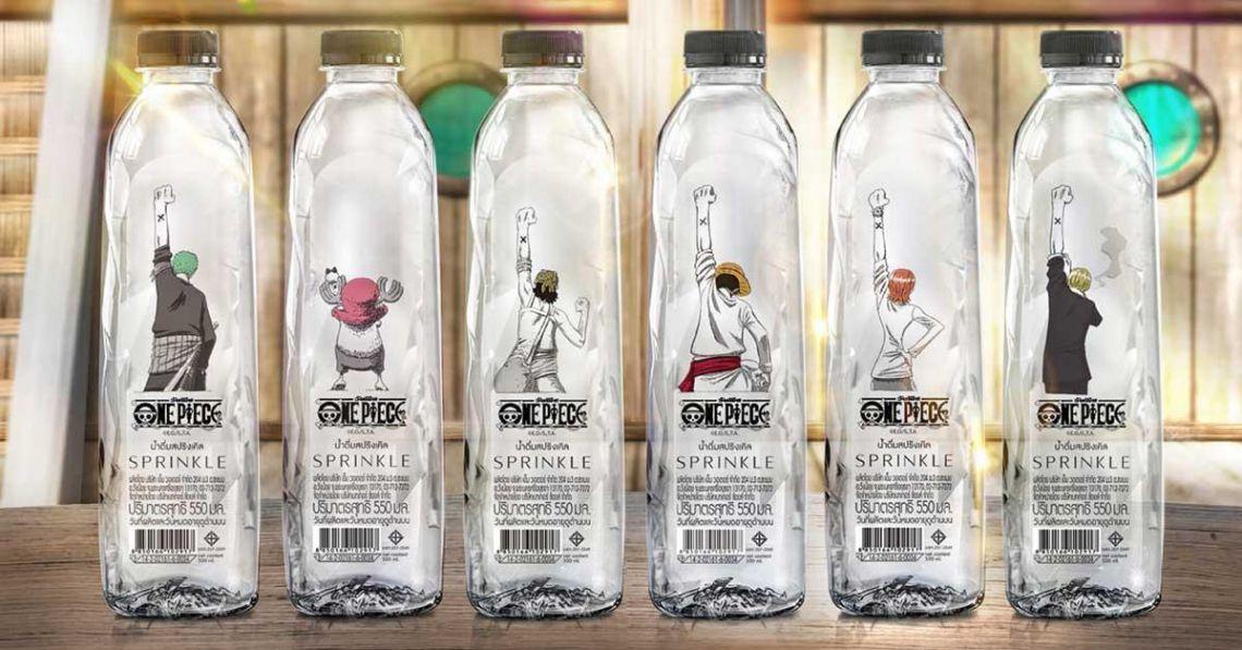 น้ำดื่ม Sprinkle x One Piece ลายลิมิเตด