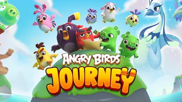Angry Birds Journey เล่นก่อนใคร