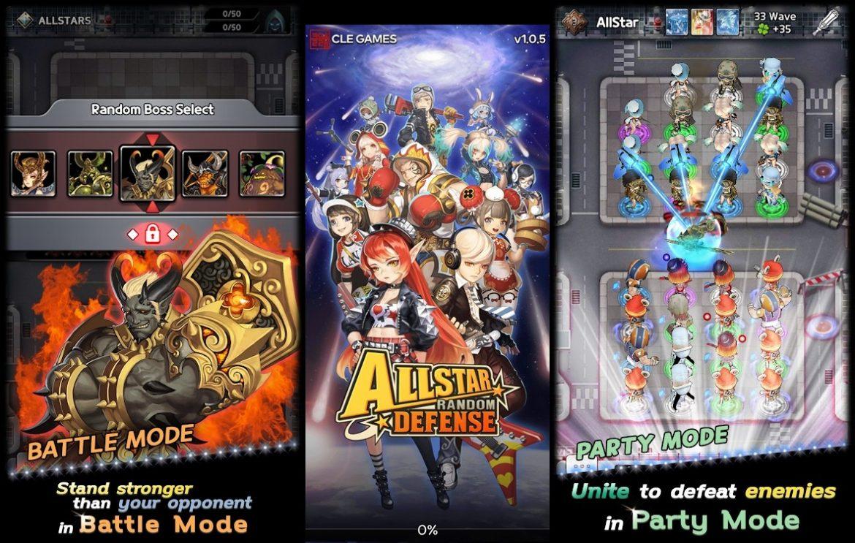 ดวลอย่างมัน เกมป้องกันฐาน Allstar Random DEFENSE